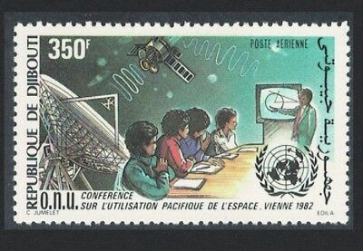 Djibouti Peaceful Uses of Outer Space 1v SG#860