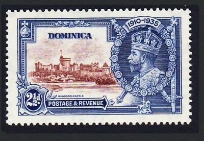 Dominica George V Silver Jubilee 1v 2½d MH SG#94
