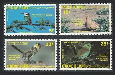 Djibouti Birth Bicentenary of John J Audubon 4v SG#941-944 SC#590-593
