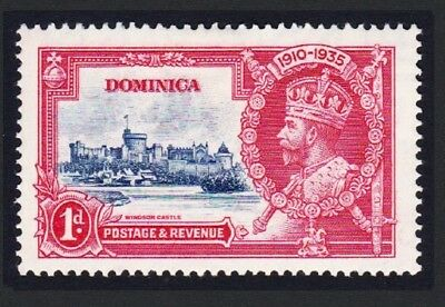Dominica George V Silver Jubilee 1v 1d MH SG#92