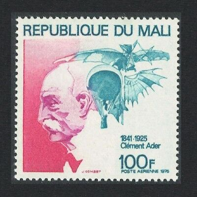 Mali 50th Death Anniversary of Clement Ader aviation pioneer 1v SG#519