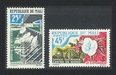 Mali Irrigation Dam Cotton 2v SG#53-54
