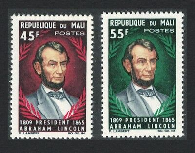 Mali Death Centenary of Abraham Lincoln 2v SG#103-104