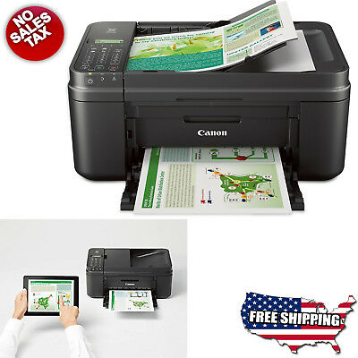 Canon Wireless Printer Copier Scanner Fax Machine All-in-One Office Full HD New