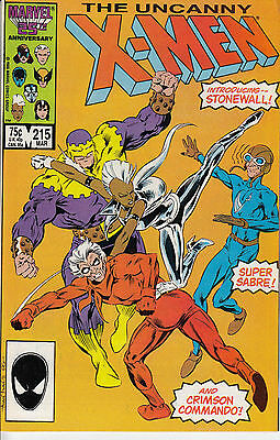 UNCANNY X-MEN 215...NM-...1987...Chris Claremont,Alan Davis...Bargain!