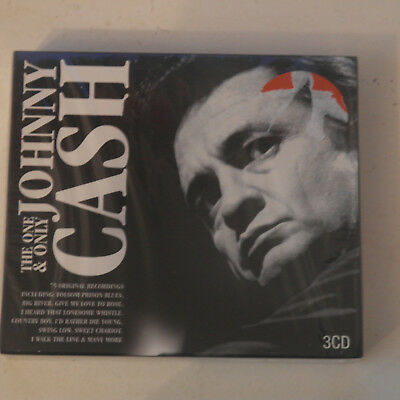 CD Album The One And Only Johnny Cash Box set, Original recording remastered NEW