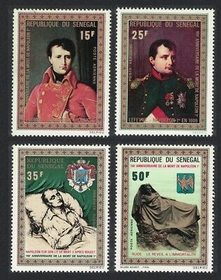 Senegal 150th Death Anniversary of Napoleon Paintings 4v SG#463-466