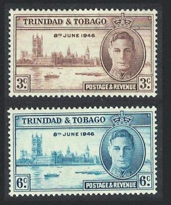 Trinidad and Tobago World War II Victory 2v SG#257-258