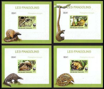 Togo WWF Three-cusped Pangolin De-Luxes