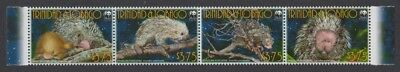 Trinidad and Tobago WWF Brazilian Porcupine Strip of 4v SC#840a-d MI#955-958