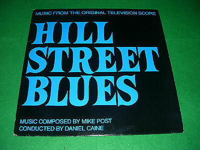 music from hill street blues daniel caine mike post LP 1985 HSBP 2222