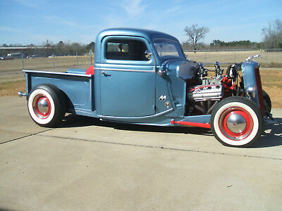 1935 Ford Other Pickups PU 1935 FORD STREET ROD PICKUP CUSTOM CLASSIC SHOW HOT ROD RAT SHOP BUILT CRUISER