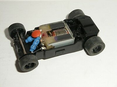 MICRO Scalextric - Rolling Chassis Black - Narrow (Black Wheels)