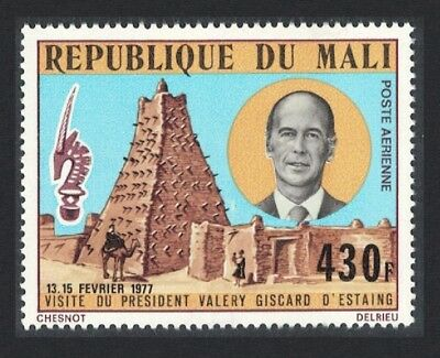 Mali Visit of President Giscard d'Estaing of France 1v SG#570 SC#C95