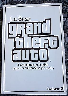 == La Saga Grand Theft Auto GTA /  Version Française 97 Pages / PlayStation ==