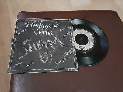 sham 69  vinyl  if the kids are United PUNK