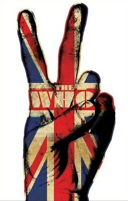 THE WHO ~ PEACE SIGN 24x36 MUSIC POSTER Union Jack Flag NEW/ROLLED!