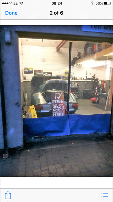 Smart Repair Prep Automotive Curtains Paint Room Spraying Booth 20 Ft X 8 Ft