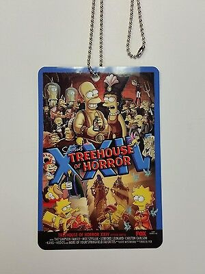 The Simpsons Treehouse of Horror XXIV Premiere Party Pass VERY RARE