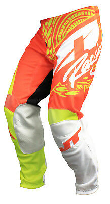 Mx Gear, Jt Racing Usa - 2017 Flex Victory Pants, Neon Yellow / Orange (Vented)
