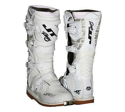 Jt Racing 2017 Podium Boot, White