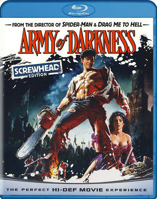 Army of Darkness (Screwhead Edition) (Blu-ray) New Blu