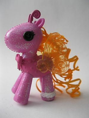 LALALOOPSY replacement pet PINK HORSE WITH ORANGE BUTTERFLY WINGS stamped MGA
