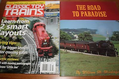 Lot of 2 Train Magazines (Classic Toy Trains & The Road to Paradise)