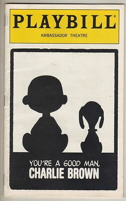 "Kristin Chenoweth   ""Charlie Brown""   Playbill  1999   ""Peanuts""  Anthony Rapp"