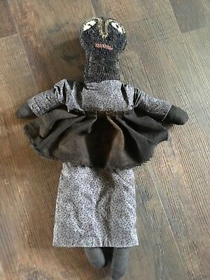 primitive hooked doll