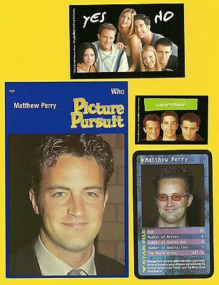 Matthew Perry Actor Fab Card Collection TV Friends The Ron Clark Story