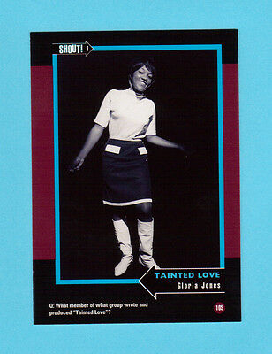 Gloria Jones Soul Music Collector Card  Have a Look!