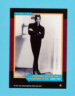 James Carr  Soul Music Collector Card  Have a Look!