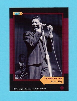 Ben E. King  Soul Music Collector Card  Have a Look!