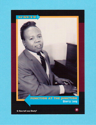 Shorty Long  Soul Music Collector Card  Have a Look!