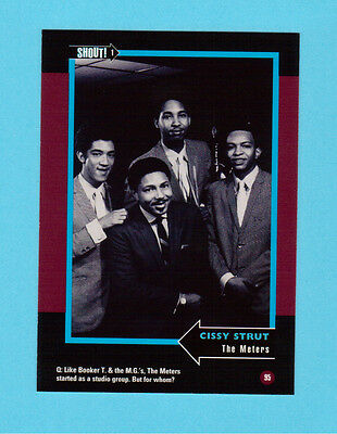 The Meters  Soul Music Collector Card  Have a Look!