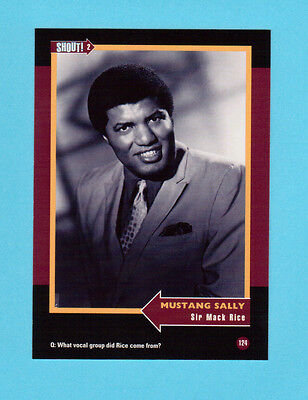Sir Mack Rice  Soul Music Collector Card  Have a Look!