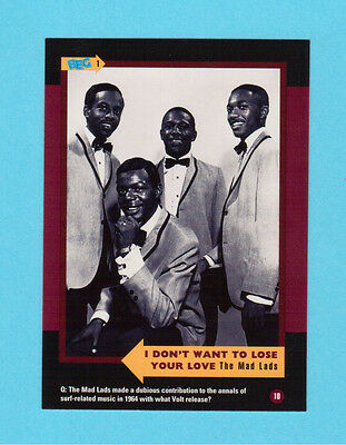 The Mad Lads Soul Music Collector Card  Have a Look!