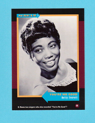 Betty Everett Soul Music Collector Card  Have a Look!