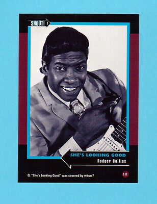Rodger Collins Soul Music Collector Card  Have a Look!