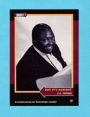 J. J. Jackson  Soul Music Collector Card  Have a Look!