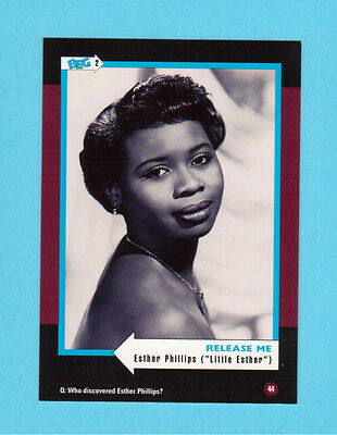 Little Esther Phillips Soul Music Collector Card  Have a Look!