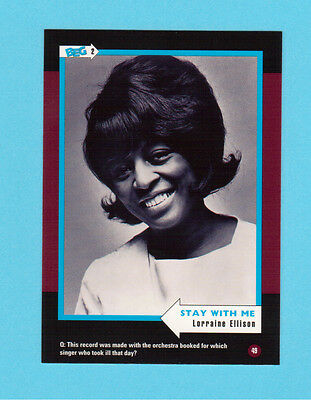 Lorraine Ellison Soul Music Collector Card  Have a Look!