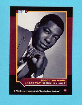 The Fantastic Johnny C  Soul Music Collector Card  Have a Look!