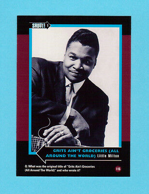 Little Milton  Soul Music Collector Card  Have a Look!