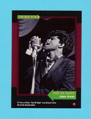 James Brown Soul Music Collector Card  Have a Look!