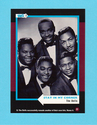 The Dells Soul Music Collector Card  Have a Look!