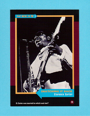 Clarence Carter  Soul Music Collector Card  Have a Look!