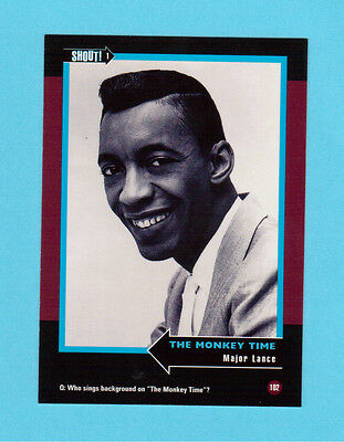 Major Lance  Soul Music Collector Card  Have a Look!