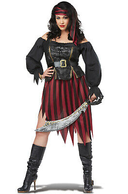 Brand New Pirate Queen of the High Seas Plus Size Costume